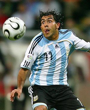 Plantel Copa America - 12 Tevez